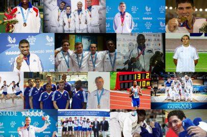 92 athlètes universitaires français dont 25 médaillés aux JO de Rio!