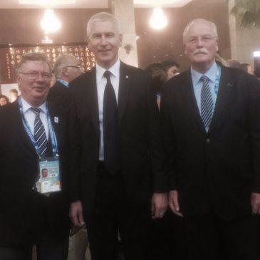 La France présente à l'Assemblée Générale et au Gala de la FISU.