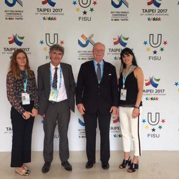 La Conférence de la FISU à Taipei.